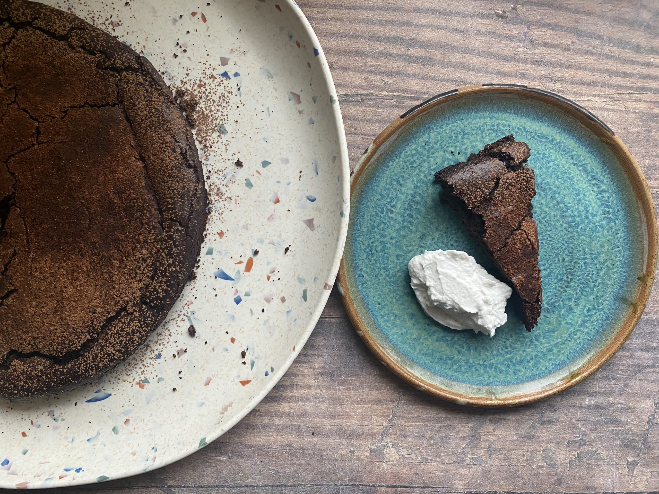 Flourless Black Bean Chocolate Cake