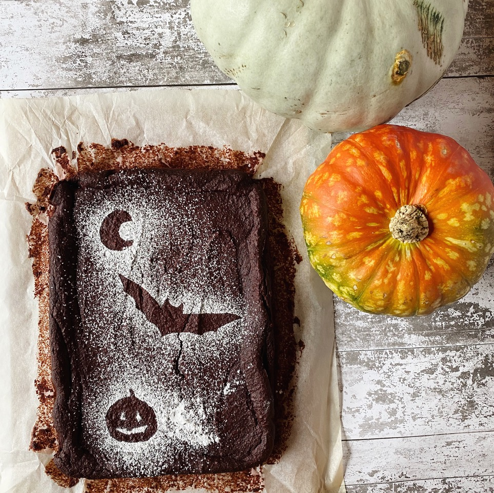Trick AND Treat Brownies